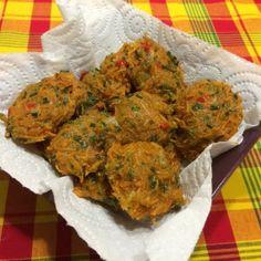 Accras de légumes antillais (photo)