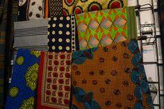 African textiles.