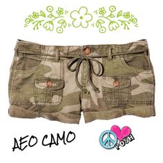 AEO Camo Shorts w/ Drawstring  American Eagle Outfitters  Trendy Camo Shorts  ☀️ Size 2 or 26/27'W  2.5' Inseam ( Fits Loosely at Hip ) ☀️   Drawstring,Pockets & Hemmed Cuff  Preloved in A-1 Condition   ❌❌NO TRADE ❌❌ American Eagle Outfitters Shorts