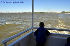 Take kiddo on a boat ride from Virginia to Maryland! A river water taxi makes a great kiddie cruise for kids with short attention spans... like my son!