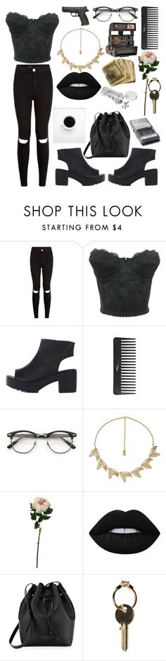 """""""#450"""" by pollyfrank ❤ liked on Polyvore featuring New Look, Sephora Collection, Laura Cole, Polaroid, Lime Crime, Kenneth Cole, Maison Margiela and Panasonic"""