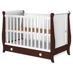 Detalii+Patut+copii+din+lemn+Hubners+Mira+120x60+cm+cu+sertar+Caracteristici:++Patutul+pentru+copii+Mira+cu+un+design+atractiv+si+modern+isi+va+indeplini+perfect+rolul+de+spatiu+sigur,+confortabil+si+protector,... Baby Cribs, Modern, Furniture, Design, Home Decor, Playmobil, Trendy Tree, Decoration Home, Room Decor