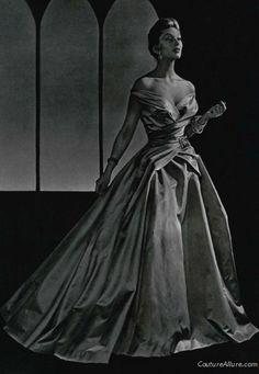 Jean Patou robe de bal 1954.