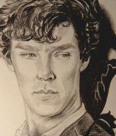 Little Sherlock Drawing by threadear.