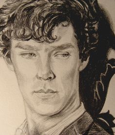 Little Sherlock Drawing by threadear.