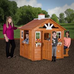 Backyard Discovery Summer Cottage Play House   6613