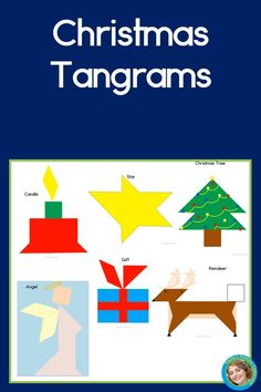 Christmas tangrams are math fun for children ages 3 - 103, and this bundle includes both printable and Google Classroom™ versions! There are puzzles for a Christmas tree, gift, candle, reindeer, star & angel, and each one is differentiated: simple outlines for beginners, and more difficult solid shapes for the more advanced. Keep your students engaged and learning in the busy days leading up to the holidays with these hands on activities, and add some seasonal magic to your lesson plans!