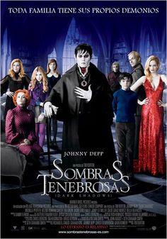 Sombras tenebrosas  es una comedia cinematográfica estadounidense de drama sobrenatural, basada en la serie de televison de corte gótico Sombras tenebrosas, dirigida por Tim Burton y protagonizada por Johnny Depp, Michelle Pfeiffer, Helena Bonham Carter, Eva Green y Chloë Moretz entre otros. La película se estrenó el 11 de mayo de 2012