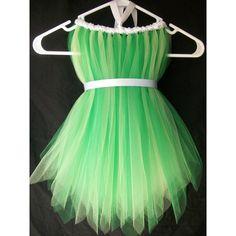 Tinkerbell costume soooo easy! ❤ liked on Polyvore