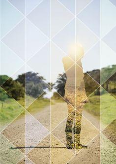 collage by karoline stangvik, via Behance