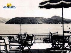 #acapulcoeneltiempo El hotel La Marina y su hermoso roof garden en Acapulco. ACAPULCO EN EL TIEMPO. El hotel La Marina que se encontraba a un lado de la plaza Álvarez, también conocida como el Zócalo de Acapulco, fue de los primeros en contar con un roof garden en su azotea, desde donde se tenía una hermosa vista de la bahía, antes de que se construyeran tantos edificios. Obtén más información en la página oficial de Fidetur Acapulco.