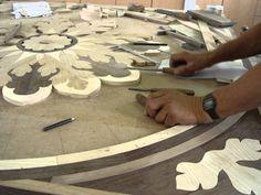Marquetry - Inlay/Medallion - HOPE - Luxury Wood Flooring