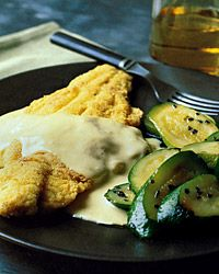 Sautéed Catfish with Mustard Sauce  - March Madness Recipes on Food & Wine