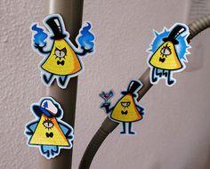 Cute Gravity Falls BILL CIPHER IMANES de nevera