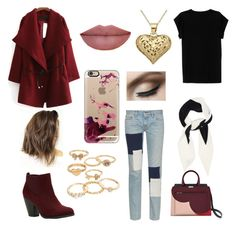 """""""Zoe"""" by cri-bad on Polyvore featuring Isabel Marant, Simon Miller, Mudd, Valentino, Casetify and Call it SPRING"""