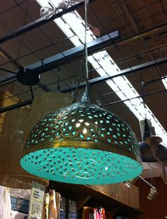 This is perhaps one of my most favorite pendant lamps EVER. Window Shopping: Around The World (Market) | Young House Love
