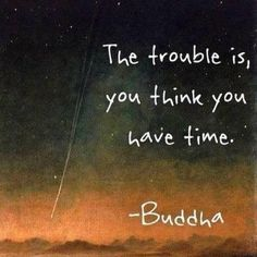 Good to think about...don't have a lot of time for what is important. Enjoy the moments - each and every one of them.....