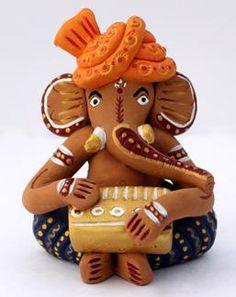 #terracotta #Ganesha