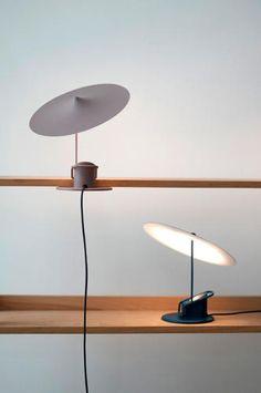 Put This Clever Lamp From French Designer Inga Sempé Anywhere Decor, Lamp Design, Interior, Lamp, Lighting Design, Desk Lamp, Lamp Light, Lights, French Design