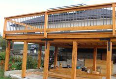 Pergola For Sale Near Me Refferal: 7622515805 Patio Grill, Pergola Patio, Pergola Shade, Pergola Ideas, Railing Ideas, Pergola Kits, Backyard Ideas, Cool Deck, Diy Deck