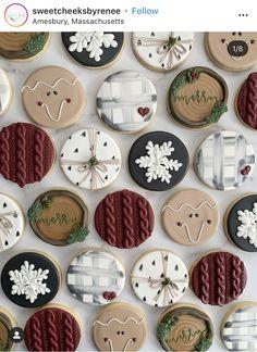 christmas cookies photography Weihnachtspltzchen A - christmascookies Cute Christmas Cookies, Iced Cookies, Cute Cookies, Christmas Sweets, Royal Icing Cookies, Christmas Goodies, Holiday Cookies, Holiday Baking, Christmas Baking