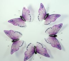 Hey, I found this really awesome Etsy listing at https://www.etsy.com/listing/170071336/20-lilac-purple-stick-on-butterflies