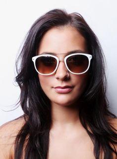 Designer Round White Sunglasses for Summer 2016