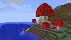 That New Map Mushroom House Minecraft Project