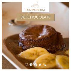 Hoje celebra-se a existência de uma das delicias que mais adoça o paladar, o chocolate!  #chocolate #food #chocolat #herdadedosgrous #beja #alentejo #portugal