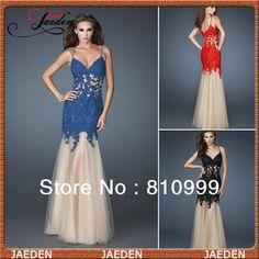 GL050 Spaghetti Strap Sweetheart Design Style With Appliques Elegant Evening Dresses $117.00