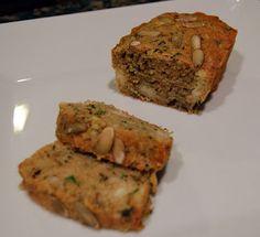 Savory zucchini yeast bread recipe