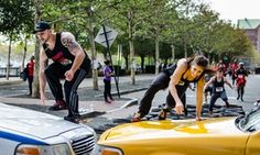 Haul sandbags, scale walls, and tackle over 25 other obstacles and challenges on this urban obstacle course Island Park, Obstacle Course, New York City, Challenges, August 13, Racing, Urban, New York, Lace