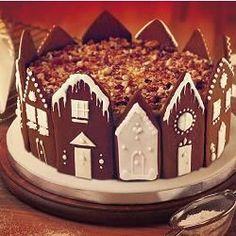 Recipe photo: Winter wonderland cake