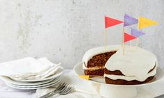 This cake is a healthier version of banana cake ... that definitely doesn't skimp on flavour! Perfect for a birthday party or slicing up and popping into your kid's lunch box.