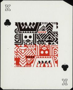 Antique playing card. Timeless.