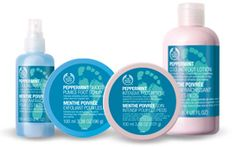 Peppermint Foot Rescue Line, The Body Shop