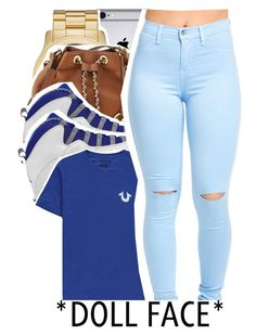 """""""*DOLL FACE*"""" by trillest-shauney ❤ liked on Polyvore featuring art"""