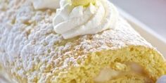 Lemon Mascarpone Roulade - EverybodyLovesItalian.com