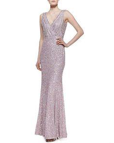 sparkling lavender wedding dress