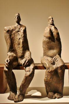 assem al bacha - Bing images Concrete Sculpture, Modern Sculpture, Sculpture Clay, Abstract Sculpture, Ceramic Sculpture Figurative, Figurative Art, Ceramic Figures, Ceramic Art, Art Psychology