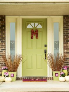 Cute Front Porch/Door