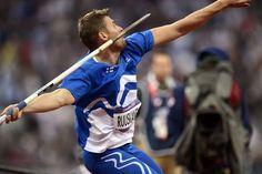 Antti Ruuskanen won bronze in men's javelin throw. Third medal in London 2012,