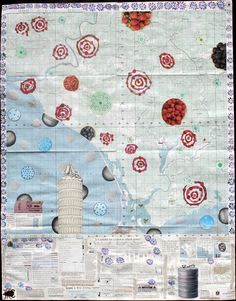 Robertsport: Pilfered from a UN repository of maps by a keen surfer and talented photographer, this tactical map entirely downplays the centrality of Robertsport the town and even excludes, by millimeters, Cotton Trees the wave. The fruitful interior is what it is and the legend fills with occult bluster. A vulgar octopus surveys everything as they usually do until they are turned inside out, savagely. Let them be.