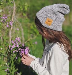 Beautiful girl on a beautiful day ❤️ Lion Brand Yarn, Chilly Weather, Slouchy Beanie, Pom Pom Hat, Daughter Love, Keep Warm, Mommy And Me, Simple Style, Aesthetic Clothes