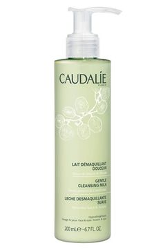 "Caudalie Gentle Cleansing Milk / ""Caudalie is another personal favorite. I mean, winery turns skincare brand... great way to win me over. The fact that it works, just a plus."" - Meredith C., @Nordstrom Beauty Stylist"