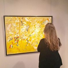 Looking at Le printemps by André Lanskoy, 1954 Oil on canvas 114 X 146 cm #ApplicatPrazan #gallery #ModernArt #AbstractArt #AbstractArtist #painting #Art #Artgallery #ArtgalleryParis #Postwar #SchoolofParis #collectors #collection #instagood #photooftheday #beautiful #picoftheday #art #nofilter #andrelanskoy