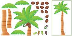 Palm Tree (Monkey Mischief) Bulletin Board Set (T-8220) #classroom #decor #AILtyler