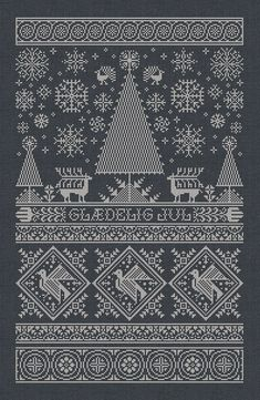 Scandinavian Christmas Sampler Instant Download PDF by modernfolk