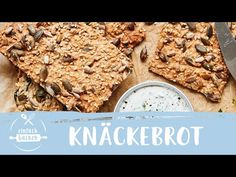 Home Bakery, Crackers, Healthy Living, Vegan Recipes, Good Food, Veggies, Food And Drink, Low Carb, Bread