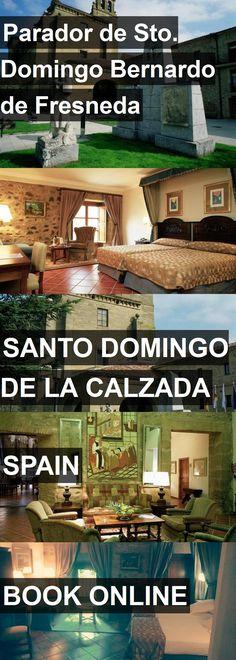 Hotel Parador de Sto. Domingo Bernardo de Fresneda in Santo Domingo de la Calzada, Spain. For more information, photos, reviews and best prices please follow the link. #Spain #SantoDomingodelaCalzada #travel #vacation #hotel